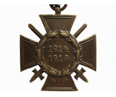 Почётный крест мировой войны 1914-1918
