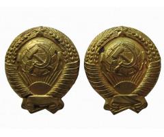 Петличные эмблемы Госбанка СССР
