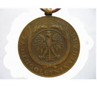 Польша медаль за долголетнюю службу 3 класса (10 лет выслуги)