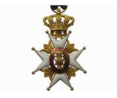 Швеция Орден Вазы Рыцарь 1- го класса (золото)
