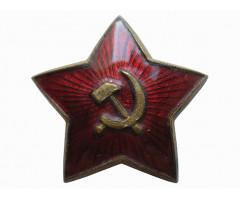Звезда (большая) на головной убор РККА