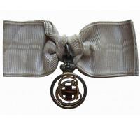 Жетон красного креста с вензелем  Е. И. В. Великой Княгини Елисаветы Федоровны