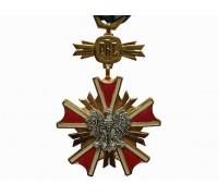 Орден Заслуг перед Польской Народной Республикой 4-го класса ( офицер)