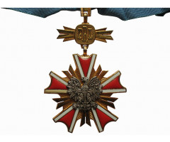 Орден Заслуг перед Польской Народной Республикой 3-го класса  ( Командорский Крест)