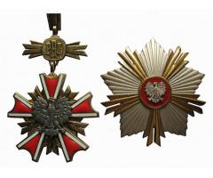Орден Заслуг перед Польской Народной Республикой 1-го класса  (Большой Крест со звездой)