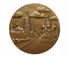 Настольная медаль Олимпиада 80.
