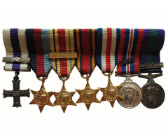 Великобритания колодка на 7 медалей (фрачники)