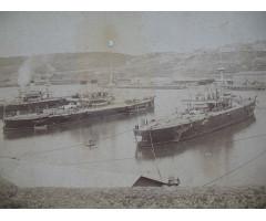 Фотография кораблей на рейде