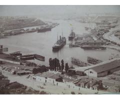 Фотография кораблей под погрузкой