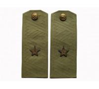 Погоны рубашечные генерал-майора (мягкие)