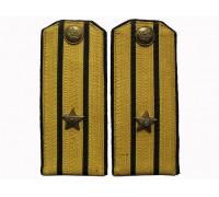 Повседневные погоны майора технических войск (шелковый галун)