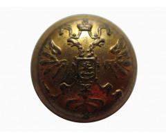 Пуговица с изображением государсвенного герба 13 мм
