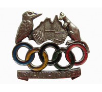 Знак олимпиады Мельбурн 1956