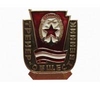 Тренер- общественник ДОСААФ СССР