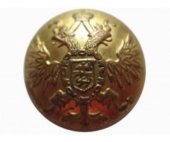 Пуговица с изображением государственного герба