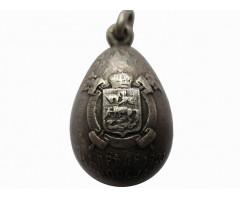 Жетон в виде пасхального яичка с изображением герба Москвы