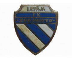 Знак футбольный клуб Звейниекс Лиепая Латвия