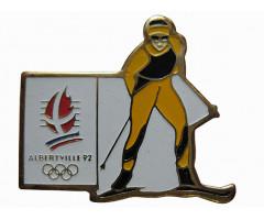 Значок олимпийские игры Альбервиль 1992