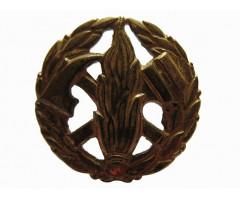 Петличная эмблема пожарного