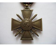 Военный крест 1939-1945 гг (1939)