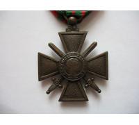 Военный крест 1939-1945 гг (1939) с золотой звездой