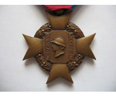 """Крест """"За Добровольную Воинскую Службу"""" (1-тип 3- класс)."""