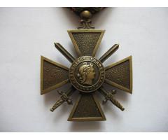 Военный крест 1914-1916 (пальмовая ветвь)