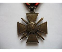 Военный крест 1914-1917 (2 пальмовые ветви 2 звезды)
