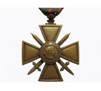 Военный крест 1914-1918 (пальмовая ветвь)