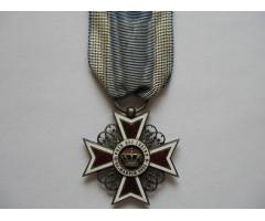 """Орден """"Корона Румынии""""  5-ая степень (Кавалер)"""