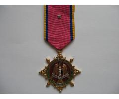 """САР медаль """"Серебрянного юбилея Сирийской Армии"""""""