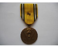 Бельгия памятная медаль войны 1940-1945