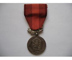 "ЧССР медаль "" За Заслуги в обороне государства """