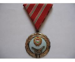 Венгрия медаль За военные заслуги