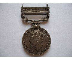 Великобритания медаль За службу в Индии  NWF 1937-39 г.