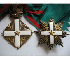 """Орден """"За заслуги перед Итальянской Республикой""""  Кавалер Большого креста"""