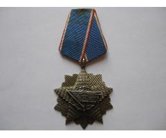 Орден Югославского флага V степени.