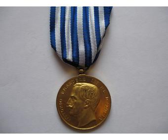 Медаль короля Италии Витторио Эмануэле III