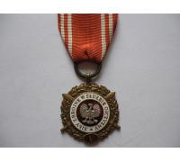 """Польша медаль """"Вооруженные силы на службе Родине""""."""