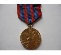 Чехословакия медаль заслуженный борец против фашизма 1 степени