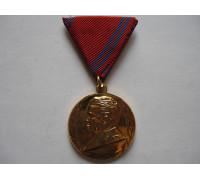 Югославия медаль 40 лет Югославской народной армии