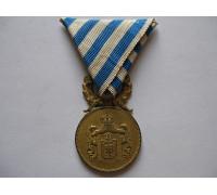 Сербия медаль За воинскую доблесть