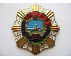 Монголия орден Трудового Красного Знамени (5-й тип)