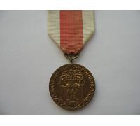 Польша медаль За заслуги при защите страны 1-й степени (эмиссия 1991)