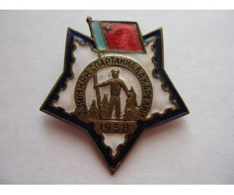 1 зимняя спартакиада Карелии 1958 год
