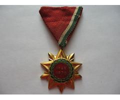 Медаль в память 25 летия освобождения Венгрии 1945-1970