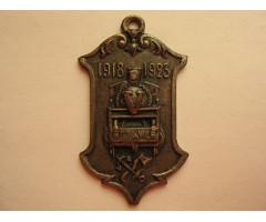 Памятный жетон 5 лет работы Северо-Западная железная дорога