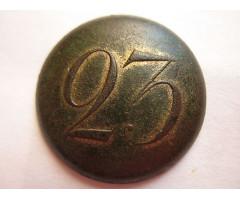 Номерная пуговица 23 (большая офицерская)