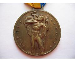 Австрия медаль святой Христофор.