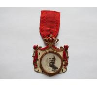 Памятный жетон Император Австрии Франц Иосиф I